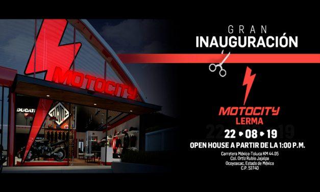 ¡Sé parte de la inauguración de MOTOCITY Lerma!