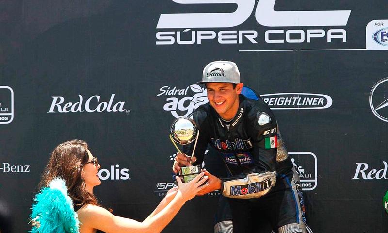 Aldo Rovirosa venció en MEXBIKE León