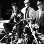 Elvis Presley, un motociclista de corazón