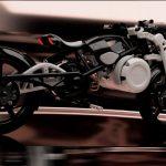 Curtiss muestra su tercera motocicleta