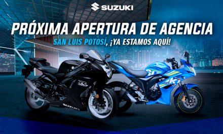 ¡Suzuki Motos México abre una nueva agencia en San Luis Potosí!