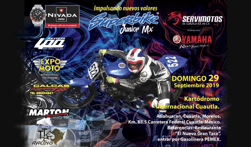 Los SPEEDE BOYS  estarán en  Superbike Jr. Cuautla