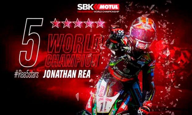 Jonathan Rea se lleva la corona del Campeonato Mundial de Superbike