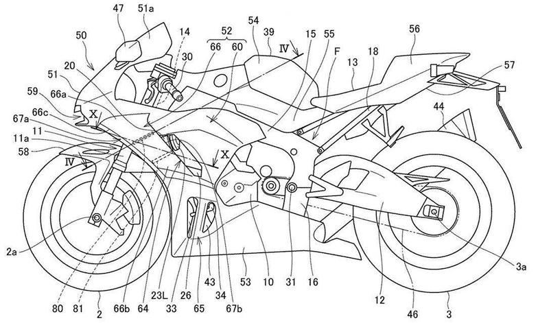 Honda trabaja en su nueva CBR1000RR 2020