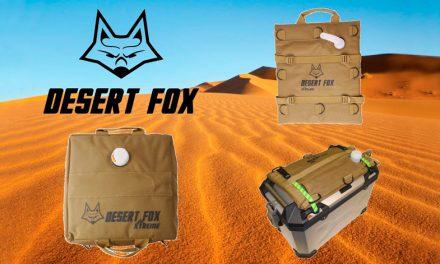 Rueda sin parar con DESERT FOX-BOLSAS DE GASOLINA