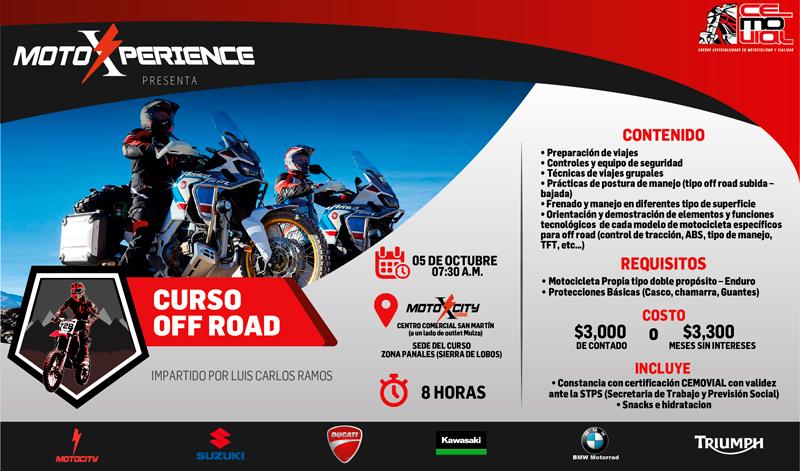 ¡Atención riders con motocicletas de enduro y doble propósito!