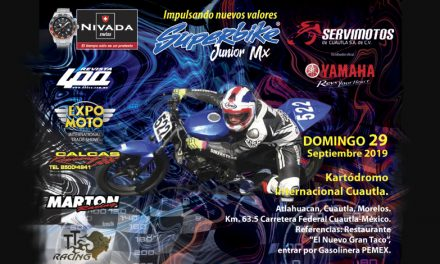 Regresa el Campeonato Superbike Jr.