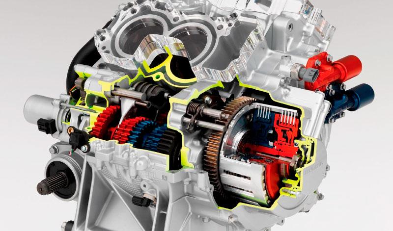 Honda, una marca pionera en el uso de transmisión de doble embrague para sus motocicletas