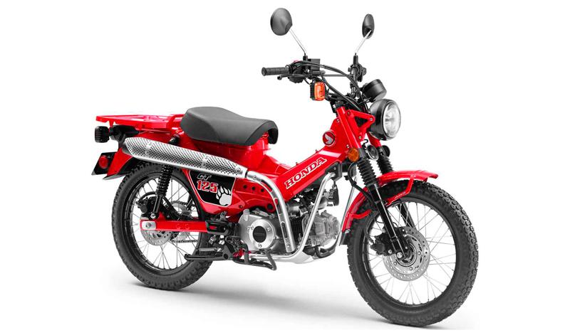 Dinámica y con estilo, así es la nueva Honda CT125