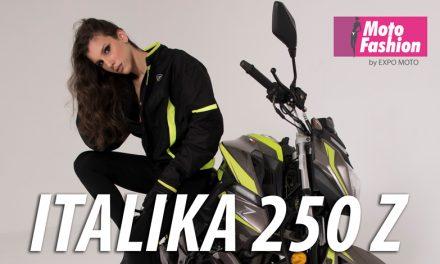 Maria Victoria Urdaneta y la Italika 250Z