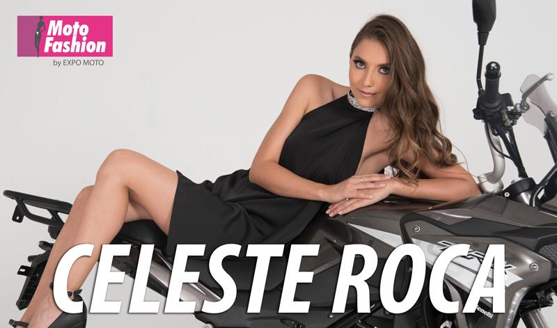 Celeste Roca, séptima modelo seleccionada de MOTO FASHION