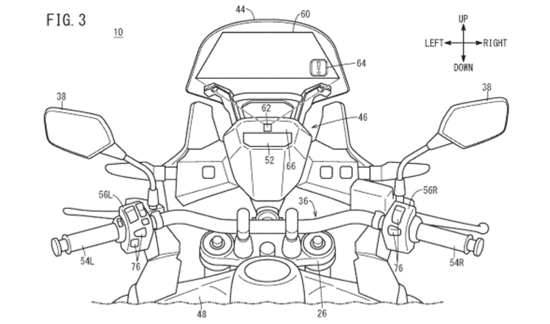 Honda registra un innovador sistema Head Up-Display para sus próximos modelos