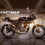 Una moto tipo Café Racer de Vento, Rocketman Sport 250