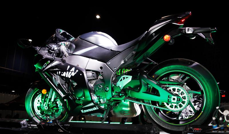 Lo último de Kawasaki en EXPO MOTO