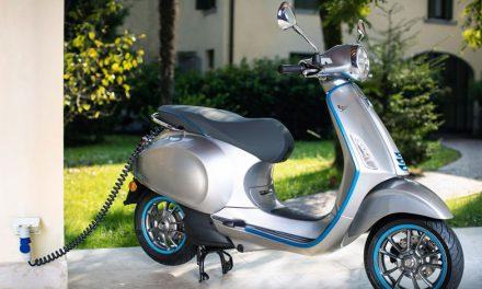 Vespa Elettrica mejora su rendimiento y autonomía en su modelo 2020
