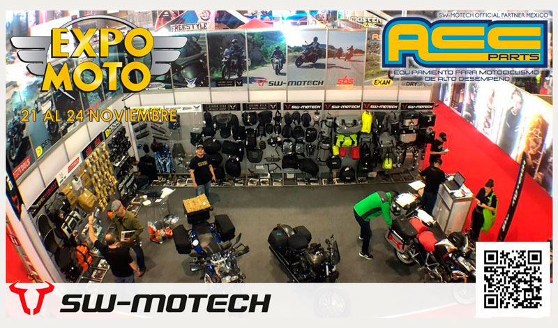 ACC PARTS una de las marcas de seguridad presentes en EXPO MOTO