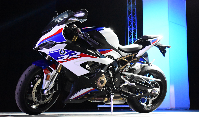 La marca alemana impacta en Expo Moto con la S1000RR