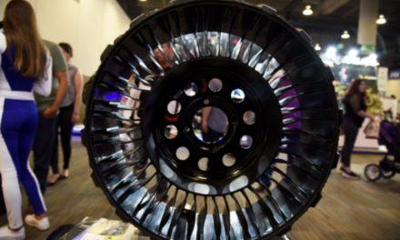 Michelin ha creado el primer neumático sin aire