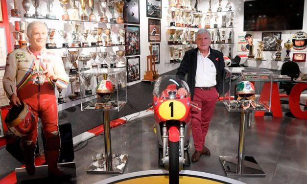 Giacomo Agostini y su museo privado