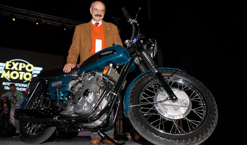 "Triumph Trident, la moto acreedora a ""El Galardon de la Elegancia""."