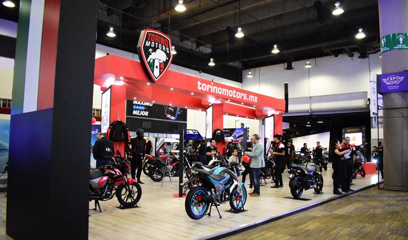Torino Motors lanza su deportiva estrella en Expo Moto