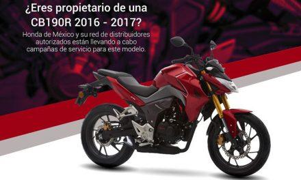 HONDA de México te regala el servicio de tu CB300R modelo 2019