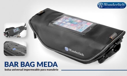 Bolsa Wunderlich Bar Bag Media universal impermeable para manubrio