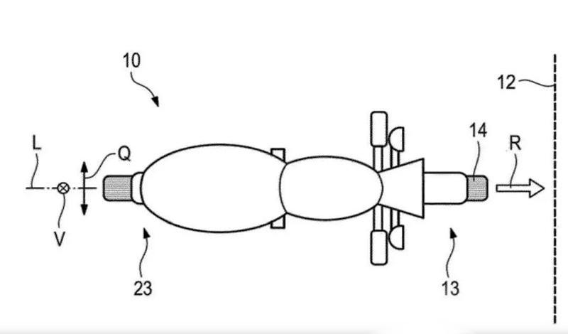 Patente de BMW para mitigar los impactos en moto