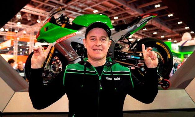 Espectacular es como luce la Kawasaki ZX-10R de John McGuinness