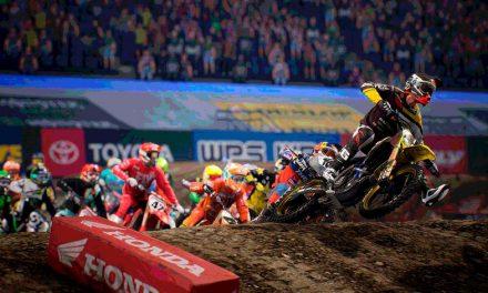 Vive la adrenalina a la par de los pilotos del AMA Supercross con este sensacional videojuego