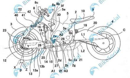 Una nueva creación de Kawasaki: la Bimota TESI de tres ruedas