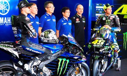 Por fin se presentó la Yamaha M1 de MotoGP