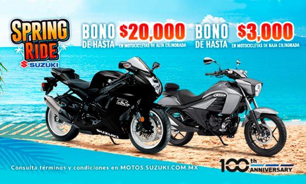 Spring Ride Suzuki