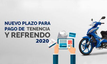 Nuevo plazo de pago de tenencia y refrendo 2020