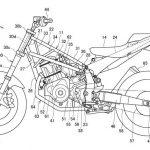 Habemus patente del chasis para la futura Honda Deauville