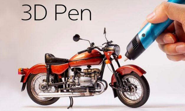 Fusiona tus pasiones con la 3D Printing Pen