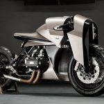 Una moto Honda de 1977 reinventada como una armadura de inspiración samurái