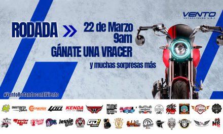 A la comunidad biker VENTO: