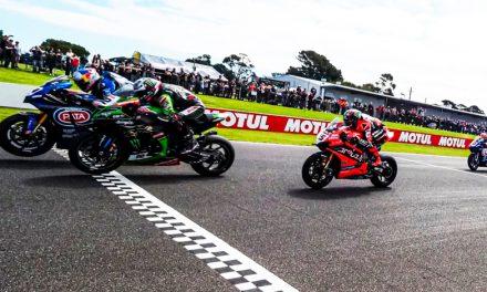 Alex Lowes se pone al frente en el Campeonato Mundial de Superbikes con Kawasaki