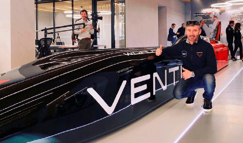 Max Biaggi se prepara para romper otro récord de velocidad