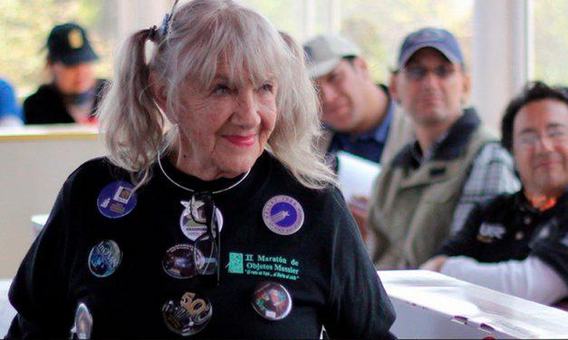 Ada Amelia Carrera de Rodríguez, una digna representante de la mujer en las pistas