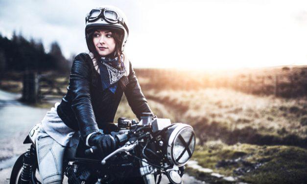 Guantes para las féminas del motociclismo. Parte I