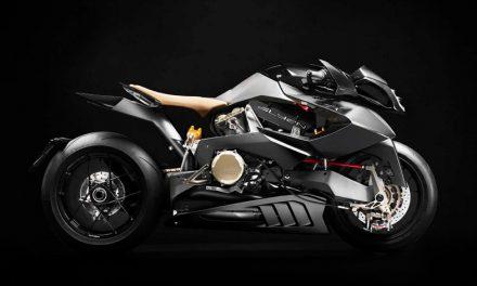 Vyrus Alyen, una moto de otro planeta