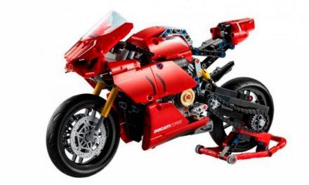 Ahora tiene su versión Lego Technic Ducati Panigale V4 R