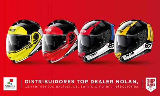 Los mejores distribuidores de Nolan en México son distinguidos como Top Dealer