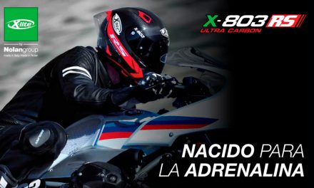Casco X-803 RS Ultra Carbon en ACC DESA