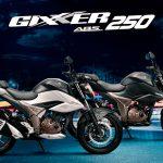 Suzuki Gixxer  250 ABS ya a la venta