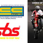 ACC PARTS y SBS te ofrecen las mejores pastillas de frenos, tal como las que usan los campeones