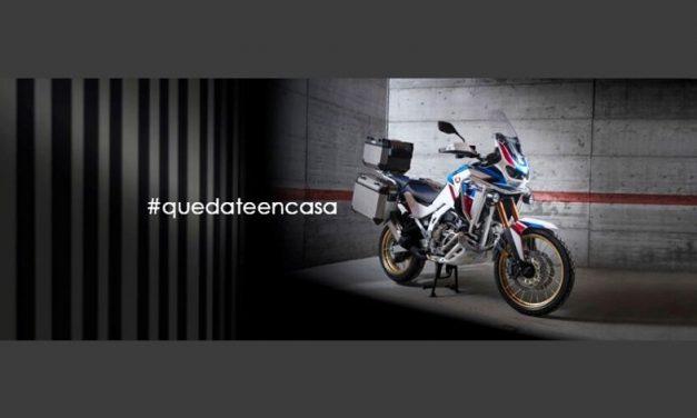 Entretenimiento para motociclistas durante la cuarentena
