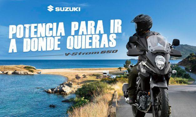 Para ti que te encanta la aventura y recorrer siempre una carretera nueva, V-Strom 650 ABS